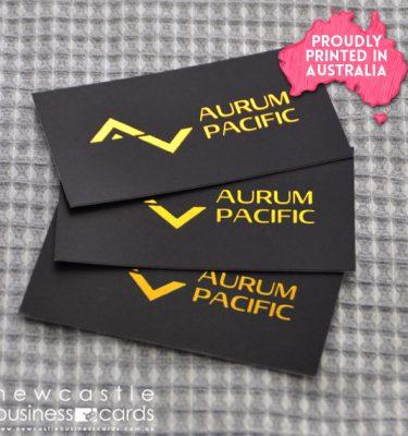 Foil Stamp Business Cards