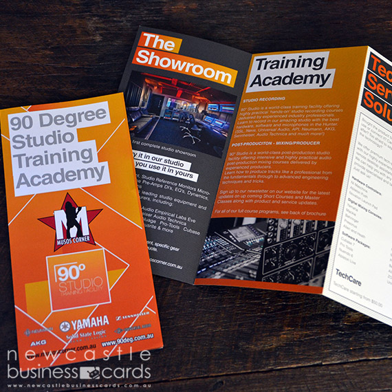 Folded brochures online brochure printing newcastle business cards folded brochures printing reheart Images