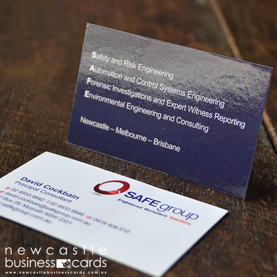 Gloss Laminated Business Card Printing