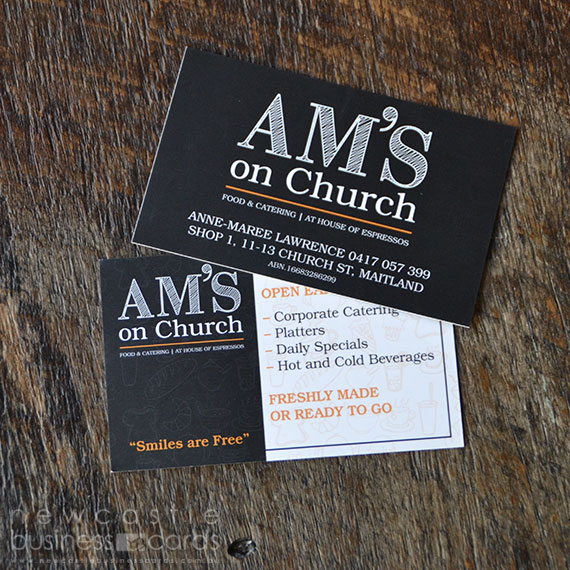 Matt Laminated Business Card Printing