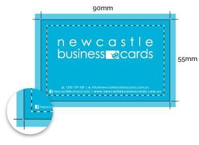 Standard 90mm x 55mm Card Setup