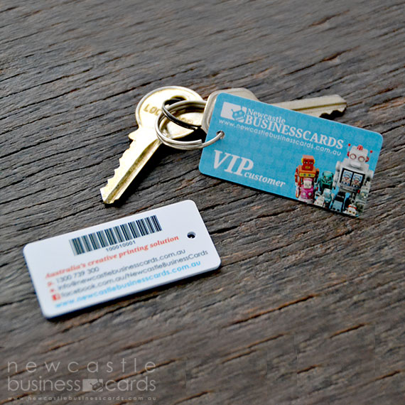 Plastic key tags plastic membership tags newcastle business cards plastic key tag printing reheart Gallery
