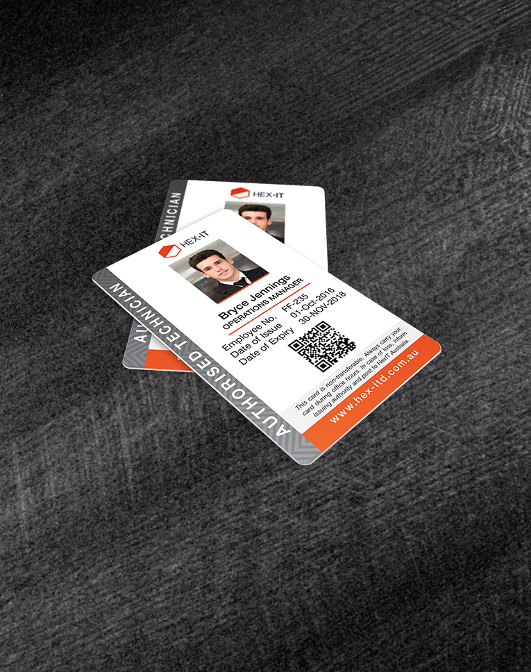 Staff ID Cards - Newcastle Business Cards