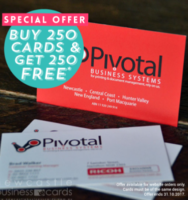 Get 250 Business Cards Free