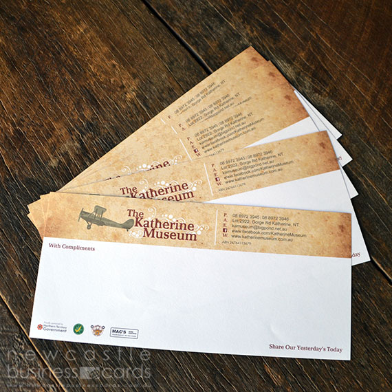 With Compliments Slips Printing